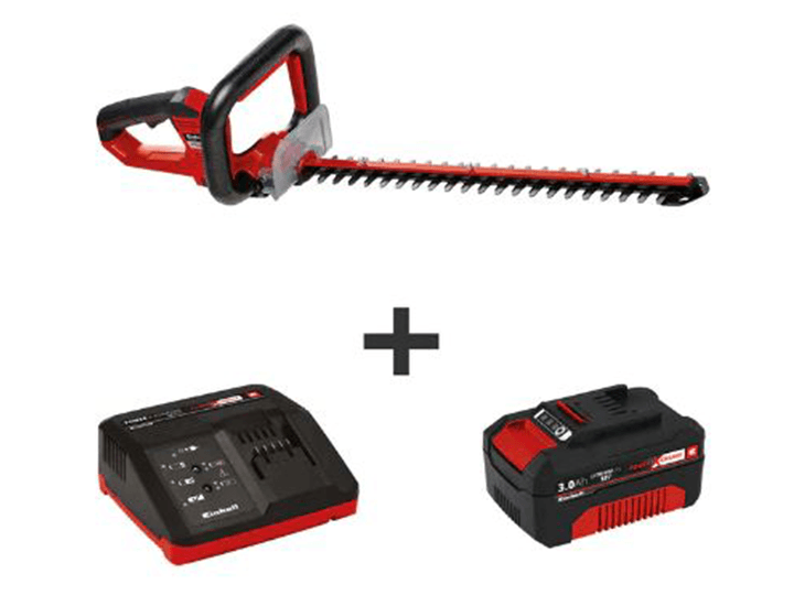 Daily Deals Einhell Arcurra Cordless Hedge Trimmer with Battery & Fast Charger Hedge Trimmers