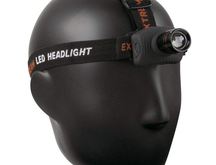 Daily Deals ExtremeBeam Professional 3-Mode LED Head Lamp Flashlights & Headlamps