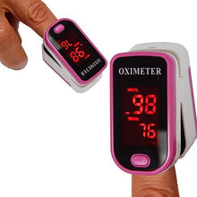 Finger Pulse Oximeter With LED Display - 4 Colors