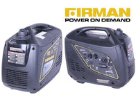 Firman 2,000 Watt Quiet Inverter Generator for Emergencies, Camping & More
