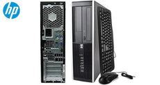 HP Desktop with Intel Core i5 3.1GHz, 4GB RAM, 250GB Hard Drive, Windows 10 Pro + Keyboard & Mouse