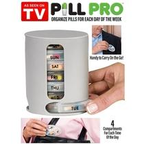 [2-Pack] Pill Pro - 7 Day Compact Pill Organizer  - UntilGone.com