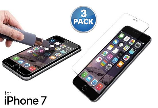 [3-Pack] Tempered Glass Screen Protector for Apple iPhone 7  - UntilGone.com