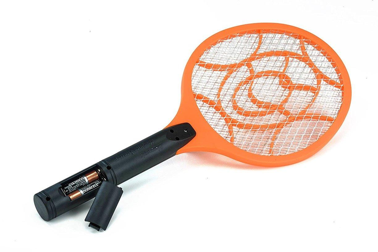 Bzzzkill Battery Operated 2500 Volt Indoor Outdoor Electric Mosquito