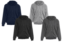 Men's Extra Thick Sherpa-Lined Full Zip Hoodies - 4 Colors