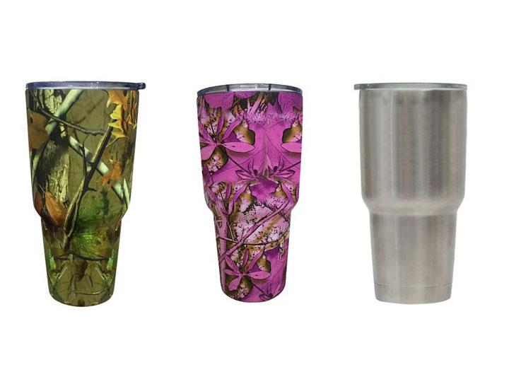 Daily Deals Insulated Stainless Steel 20 oz or 30 oz Tumbler Tumblers