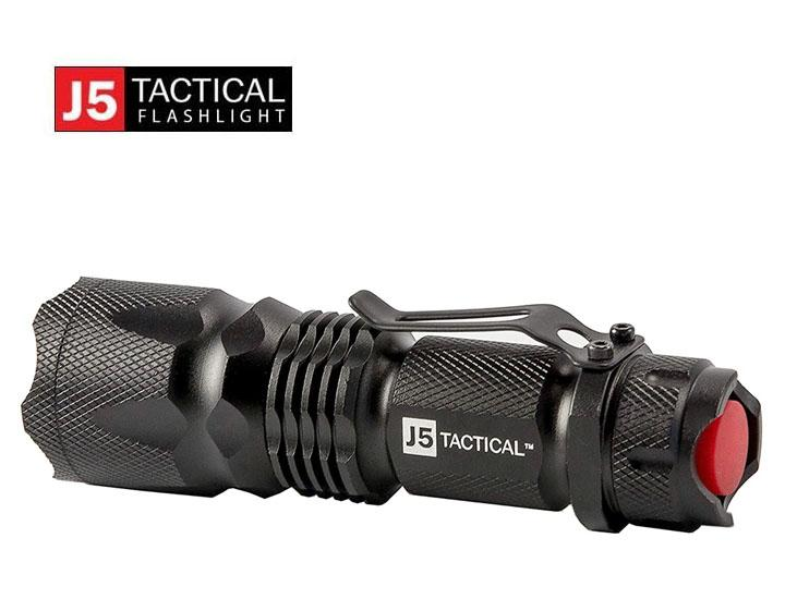 Daily Deals J5 Tactical V1-PRO Ultra Bright 3-Mode LED Flashlight Flashlights
