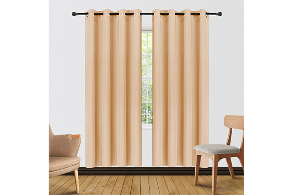 [2-Panels] Blackout and Thermal Insulation Curtains – 2 Lengths Curtains & Drapes 63