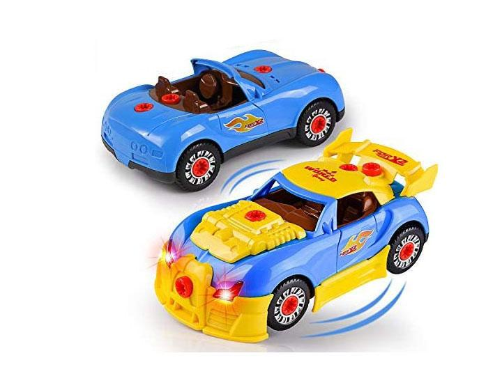 Daily Deals Kids' Take Apart Race Car Toy Cars