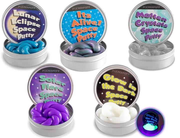 Daily Deals Kobra Incredible Space Putty Play Dough & Putty