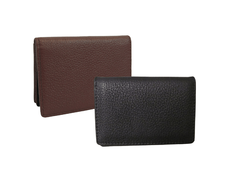 Daily Deals Leather ID and Business Card Holder Business Card Cases