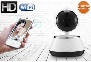 HD Wi-Fi Security Camera w/ Infrared Night-Vision, Pan/Tilt and Two-Way Audio Digital Cameras