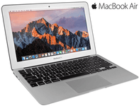 "Apple MacBook Air with 11.6"" HD Display, Intel Core i5, 4GB RAM, 128GB SSD Drive, Wi-Fi, Bluetooth, Webcam"