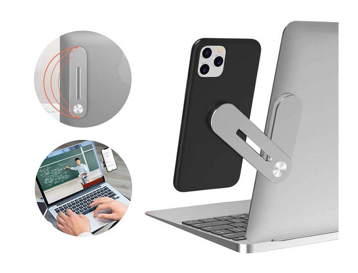 Daily Deals Magnetic Smartphone Side Mount for Laptops & Desktop Monitors Electronics Accessories