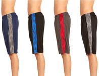 [4-Pack] Men's Active Athletic Performance Shorts