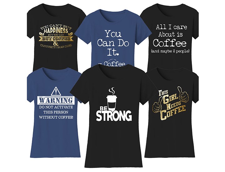 b9811f90 ... Women's Coffee Themed Funny T-Shirts Shirts & ...
