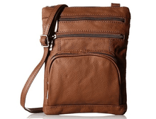 Leather Crossbody Bag with Shoulder Strap Handbags