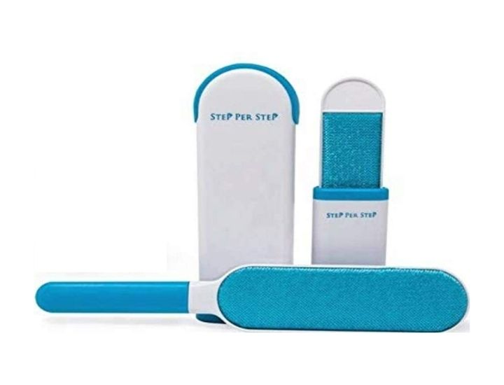 Step Per Step Lint Remover-Pet Hair Remover Brush