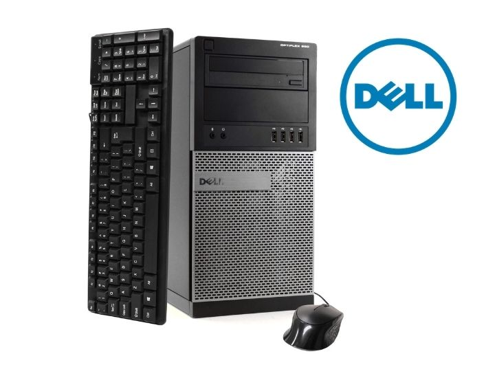 Dell OptiPlex 990 Intel  i7 8GB 500GB HDD Desktop Bundle