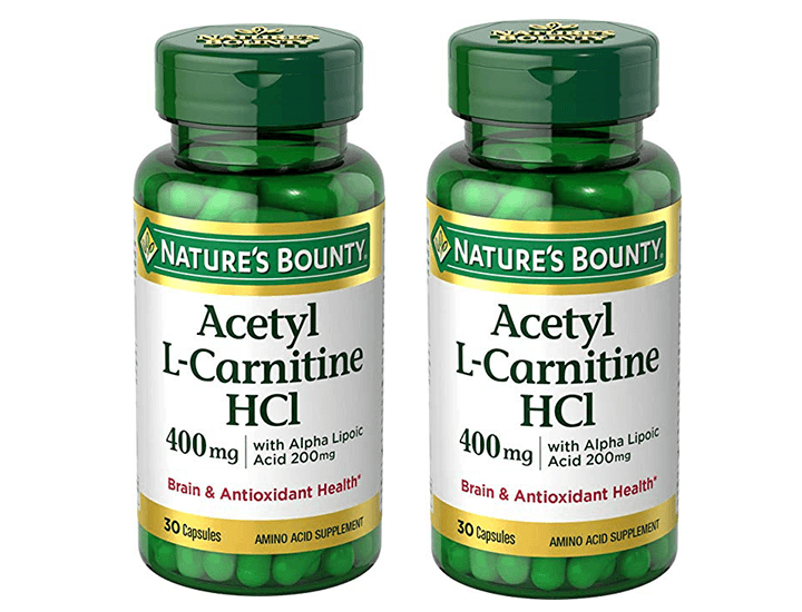 Daily Deals Nature's Bounty® L-Carnitine with ALA (2-Pack) Vitamins & Supplements
