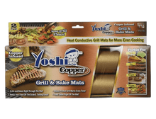 [2-Pack] Yoshi Copper Grill & Bake Mats  - UntilGone.com