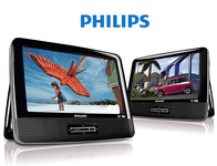 Philips Portable DVD Player with Dual 9-Inch Screens