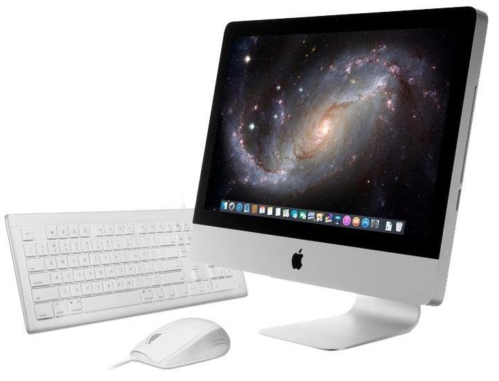 "Apple iMac 21.5"" with Intel 3.1GHz, 4GB RAM, 250GB HDD, Keyboard/Mouse  - UntilGone.com"