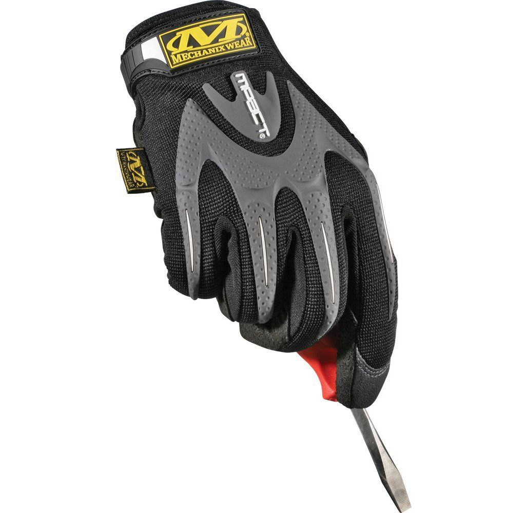 Daily Deals Mechanix Wear M-Pact Gloves with Clarino Palm & Stretch Top Safety Gloves