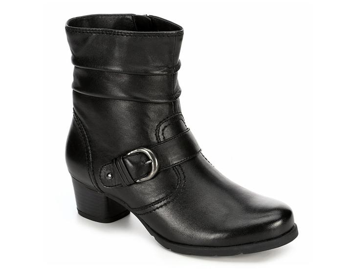 Daily Deals Medicus Women's Selina Leather Slouch Ankle Boots Shoes