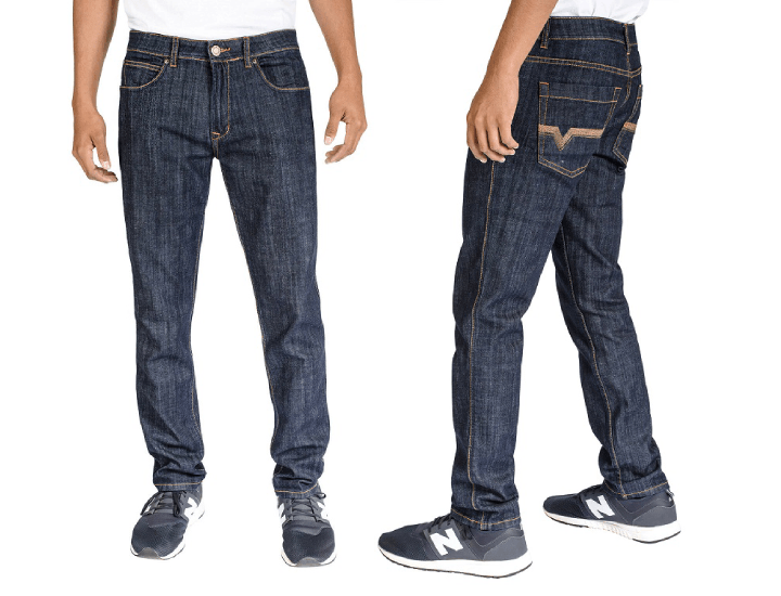 Daily Deals Men's Slim Fit 5-Pocket Stretch Denim Jeans Pants