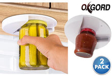 [2-Pack] Oxgord Easy One Handed Under-The-Cabinet Lid Removal Jar Openers  - UntilGone.com
