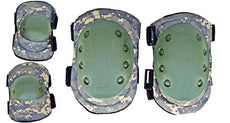 Digital Camo Tactical Elbow and Knee Pad Set