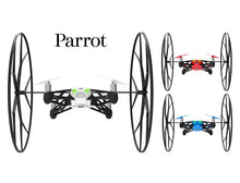 Parrot MiniDrones Rolling Spider Quadcopter with HD Camera Robotic Toys