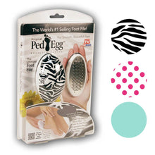 Ped Egg Pedicure Foot File with 2 Emery Finishing Pads – Fits in Your Hand  - UntilGone.com