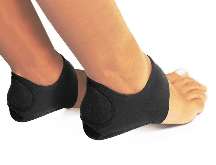 Daily Deals Plantar Fasciitis Therapy Wraps (Set of 2) Foot Care