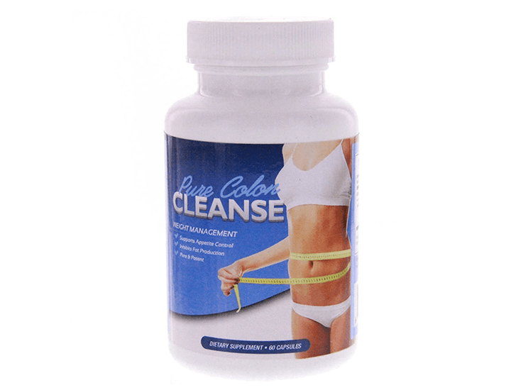 Daily Deals Pure Colon Cleanse for Weight Management (180 Capsules) Vitamins & Supplements