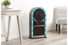 ART+SOUND Bluetooth Jukebox with Vertical Record Player & LED Lights Jukeboxes