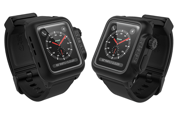 quality design d945c e1316 Catalyst Waterproof Case for 42mm Apple Watch Series 3 (Stealth Black)