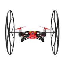 Parrot MiniDrones Rolling Spider Quadcopter with HD Camera Robotic Toys Red