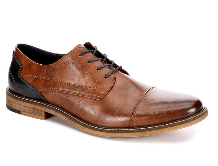 Daily Deals Restoration Men's Lowry Cap Toe Oxford Shoes Shoes