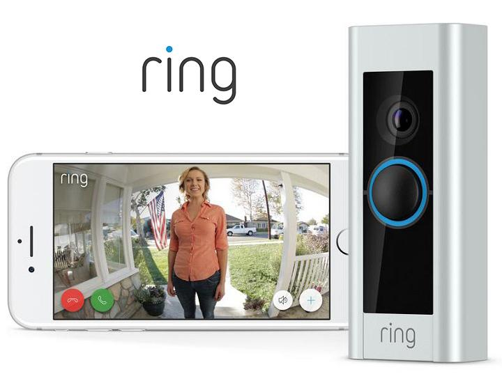 Daily Deals Ring Video Doorbell Pro with 1080P HD Video & Motion-Alerts Door Bells & Chimes