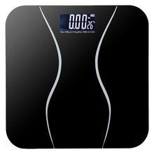Tempered Glass Precision Digital Bathroom Scale with 400lb Capacity