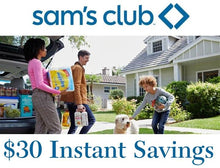 Daily Deals Sam's Club Membership with $30 Off Instant Savings Offer Gift Cards & Certificates