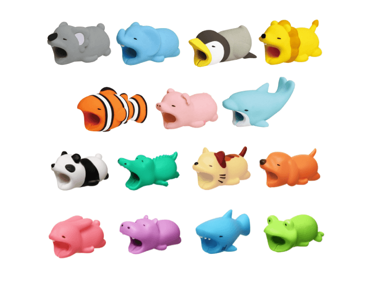 Daily Deals Silicone Animal Cord Protector Cable Clips