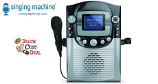 "The Singing Machine CDG Karaoke System with 3.5"" Color LCD Monitor"
