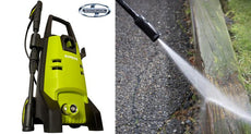 Sun Joe 1650 PSI Electric Pressure Washer with Adjustable Nozzle