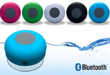 Water-Resistant Bluetooth Shower Speaker with Suction Cup Mount