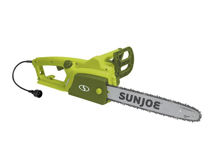 "Daily Deals Sun Joe 16"" Electric Chain Saw with Kickback Safety Brake Chainsaws"