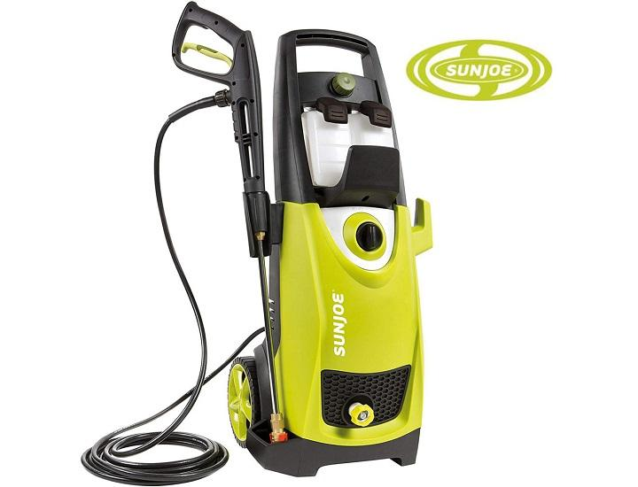 Daily Deals Sun Joe 2030 PSI Electric Pressure Washer with Quick-Connect Nozzles Pressure Washers