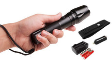 Bylt Tactical Flashlight with Carrying Pouch and Batteries